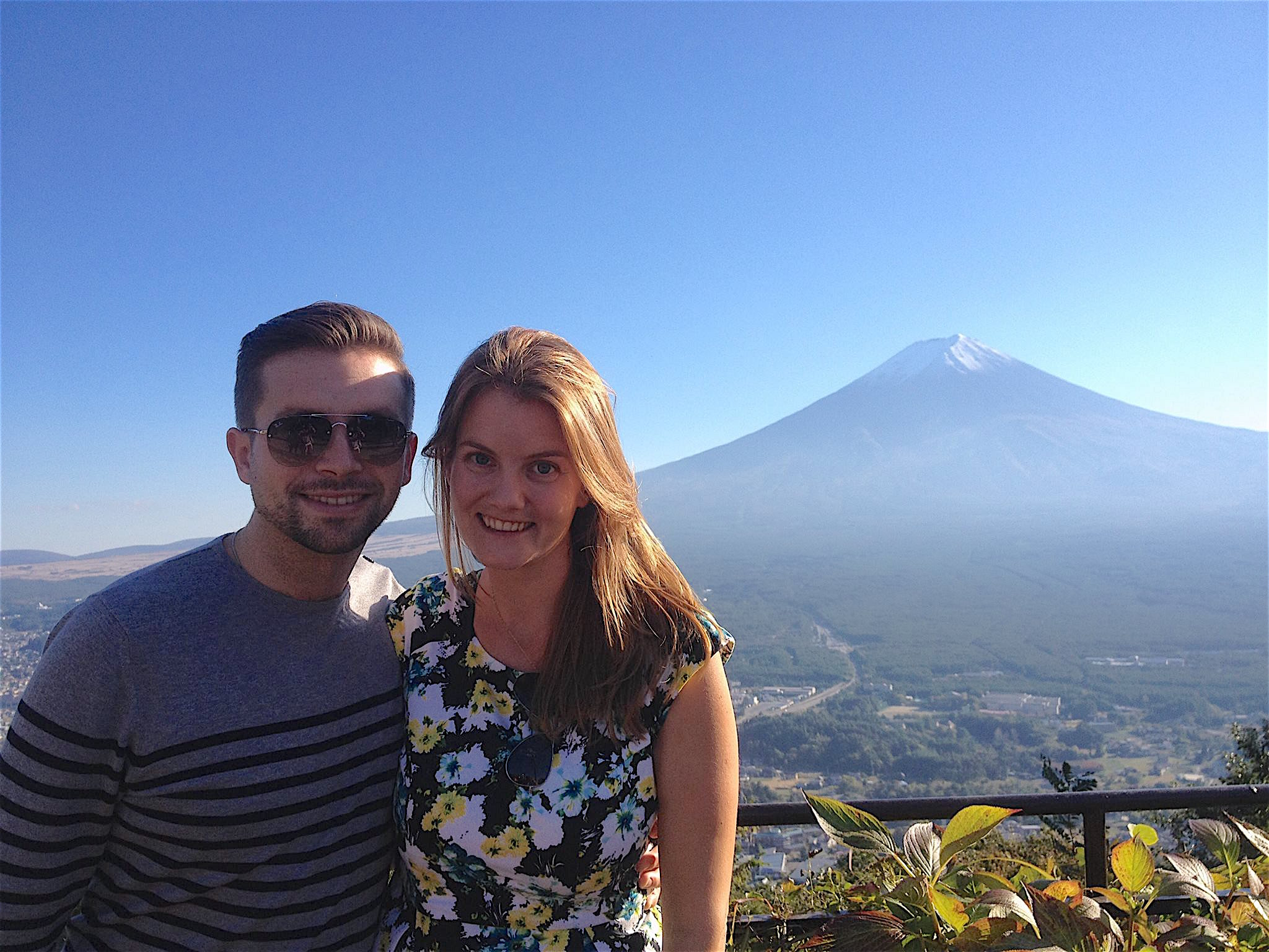 Michael and Stephanie in Japan